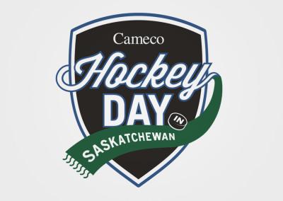 Cameco Hockey Day Logo