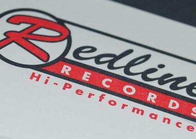 Redline Records Identity