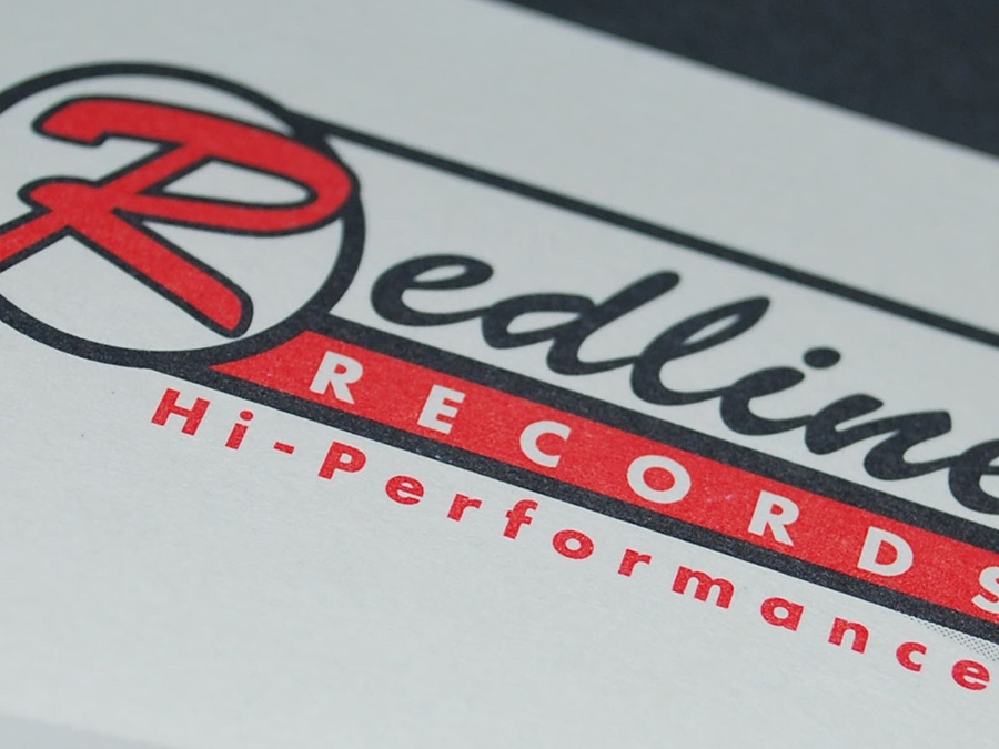 Redline Records Identity