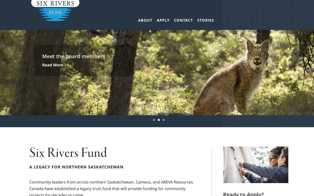 Six Rivers Fund Website