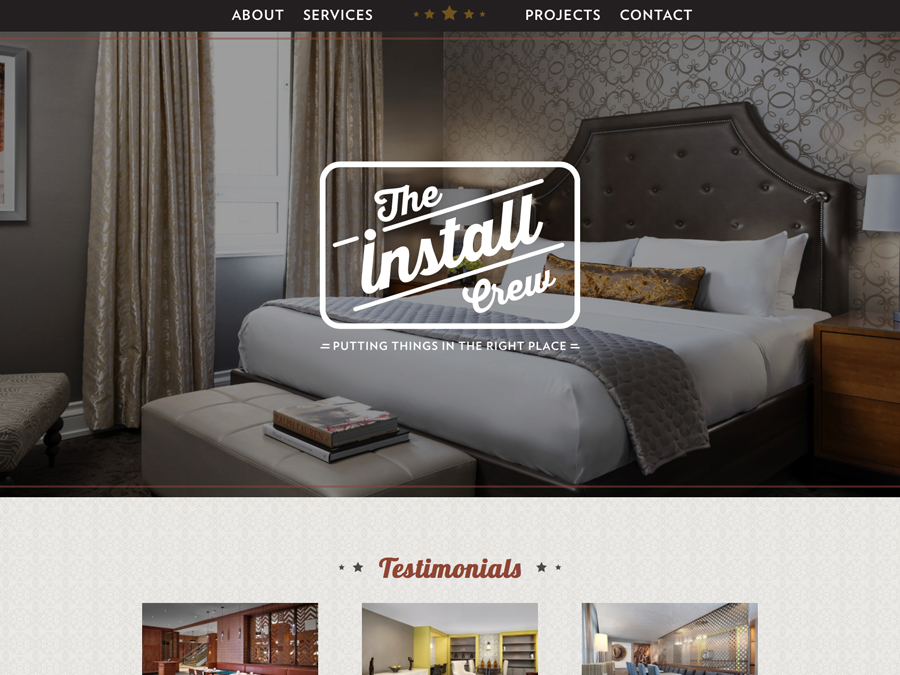 The Install Crew Website