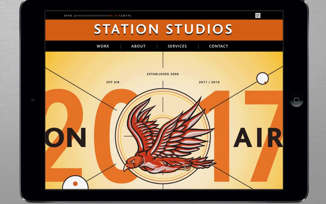 Station Studios Website