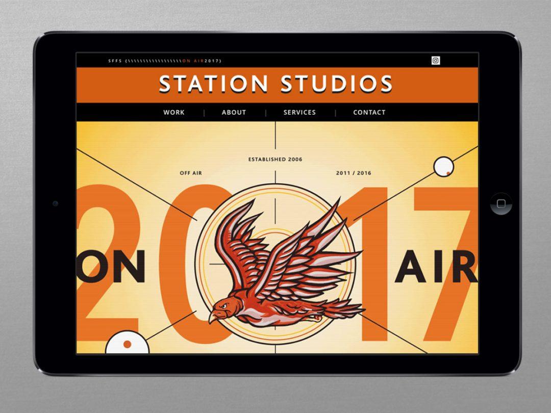 Station Studios Website